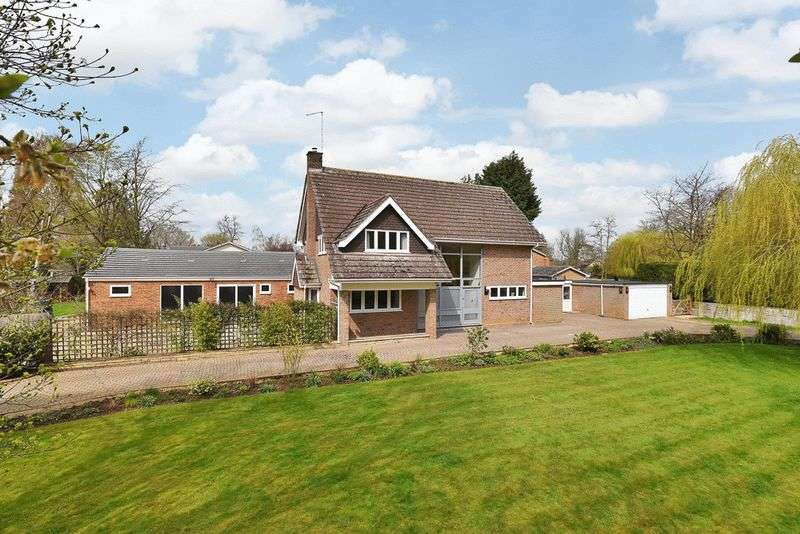 4 Bedrooms Detached House for sale in Greatford, Stamford, Lincolnshire