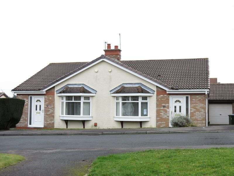 2 Bedrooms Semi Detached Bungalow for sale in Hilton Drive, Peterlee