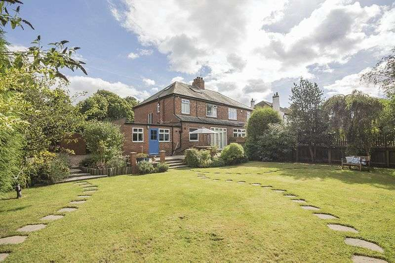 3 Bedrooms Semi Detached House for sale in Great North Road, Brunton Park, Gosforth