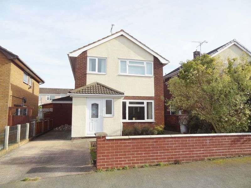 4 Bedrooms Detached House for sale in Ffordd Mon, Wrexham