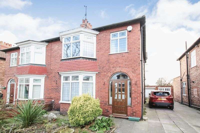 3 Bedrooms Semi Detached House for sale in Greenlands Road, Redcar
