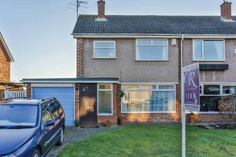 3 Bedrooms Semi Detached House for sale in Hatherley, Cheltenham