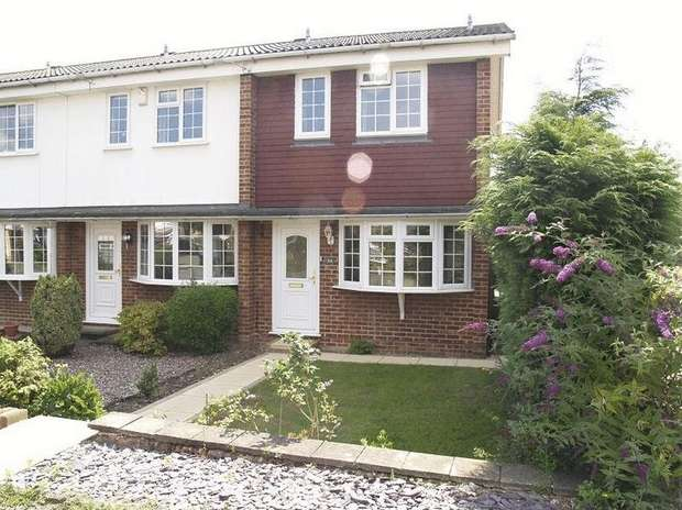 2 Bedrooms End Of Terrace House for sale in Larkspur Way, West Ewell