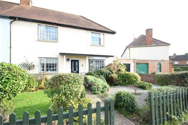 3 Bedrooms Semi Detached House for sale in Worcester Road, GUILDFORD, Surrey