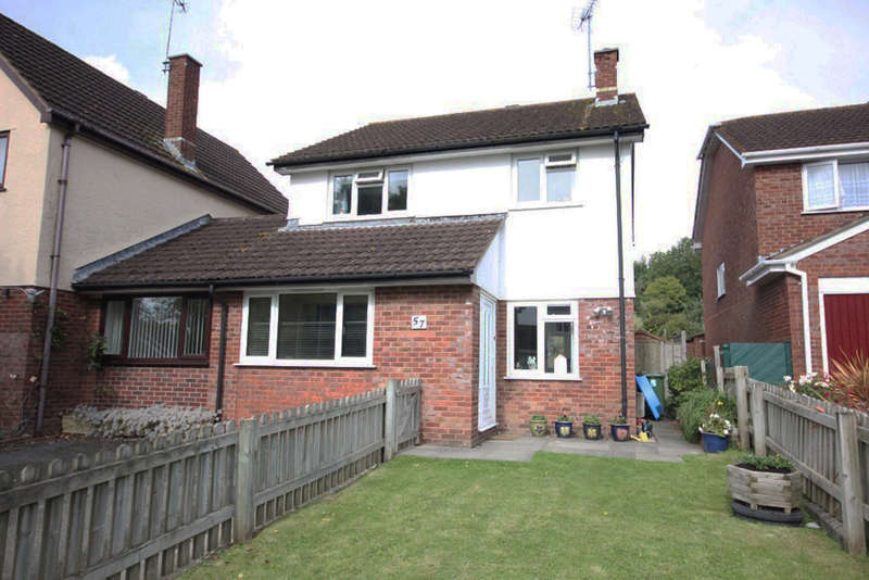 3 Bedrooms Semi Detached House for sale in Dornafield Drive East, Ipplepen, Newton Abbot