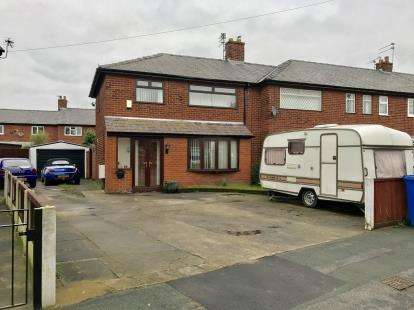3 Bedrooms End Of Terrace House for sale in Ullswater Avenue, Orford, Warrington, Cheshire