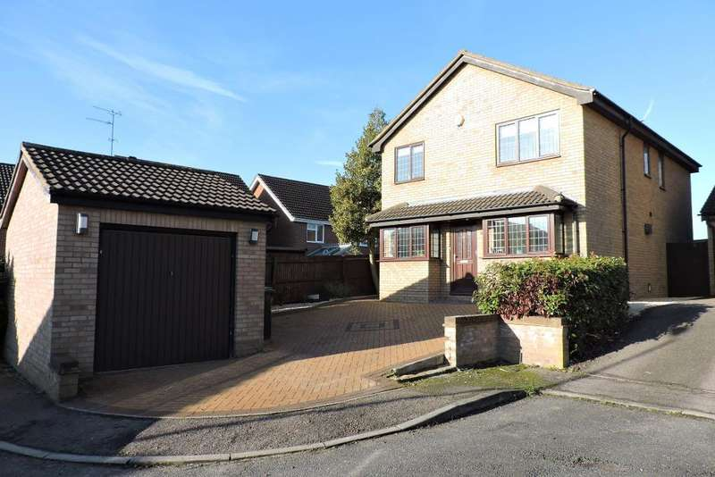 4 Bedrooms Detached House for sale in Woodmere, Luton, Bedfordshire, LU3 4DN