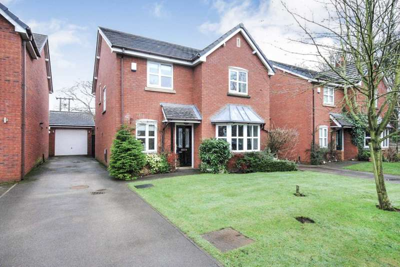 4 Bedrooms Detached House for sale in Rowan Close, Clifton