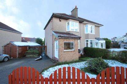 2 Bedrooms Semi Detached House for sale in Thornbridge Road, Garrowhill, Glasgow, Lanarkshire