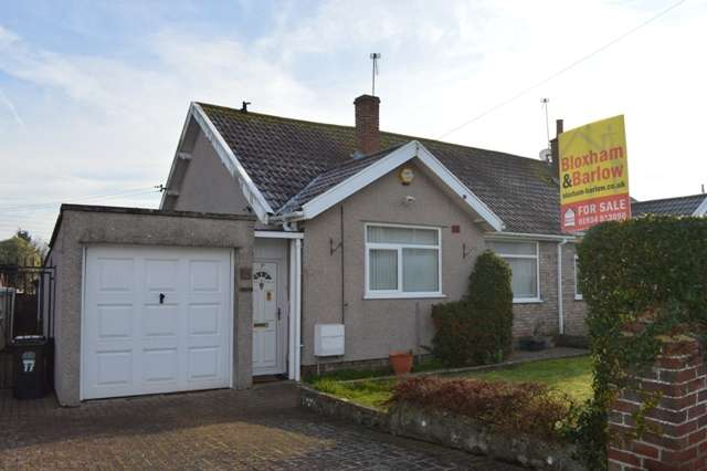 3 Bedrooms Semi Detached Bungalow for sale in South Lawn, Locking, Weston-super-Mare