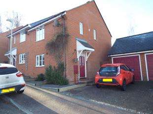 3 Bedrooms Semi Detached House for sale in Almond Court, Chartham, Canterbury, Kent