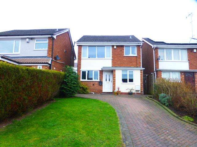3 Bedrooms Detached House for sale in Copperbeech Close, Harborne, Birmingham, West Midlands, B32 2HT