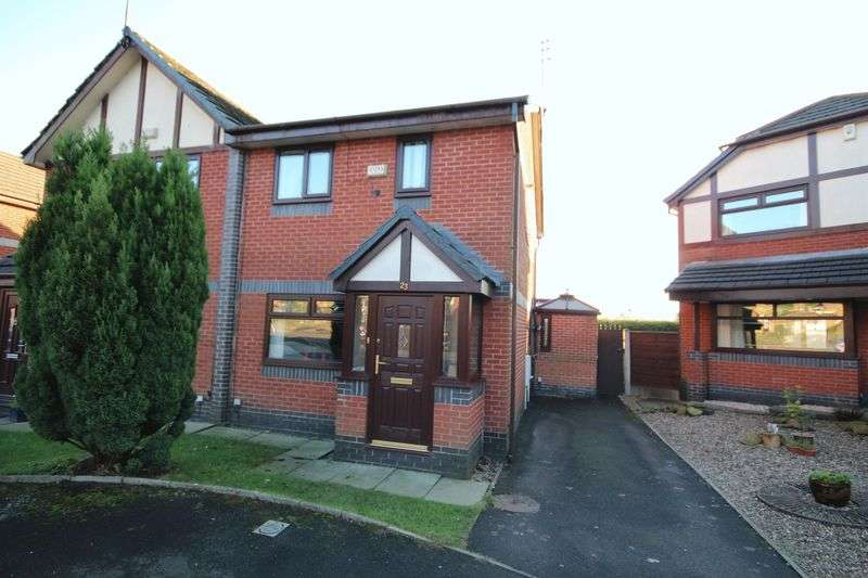 3 Bedrooms Semi Detached House for sale in HARLAND WAY, Norden, Rochdale OL12 7GQ