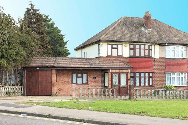 4 Bedrooms Semi Detached House for sale in Marston Road, Ilford