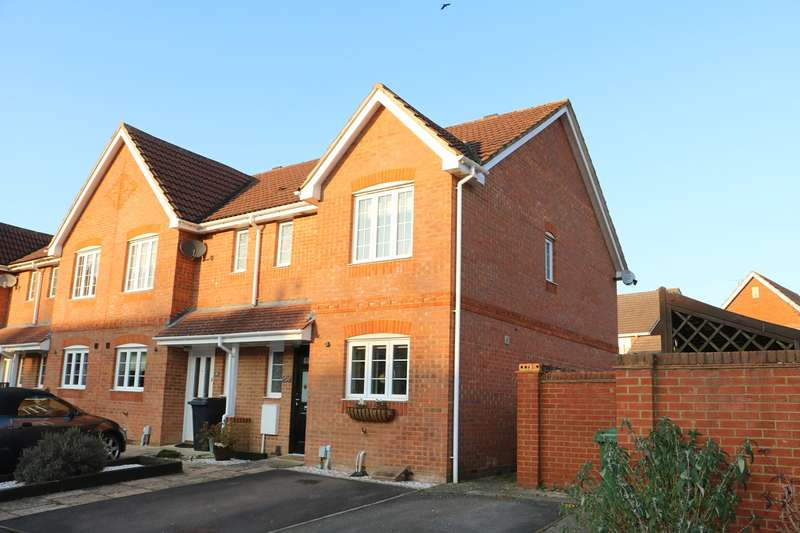 3 Bedrooms End Of Terrace House for sale in Highpath Way, Park Village, Basingstoke, RG24