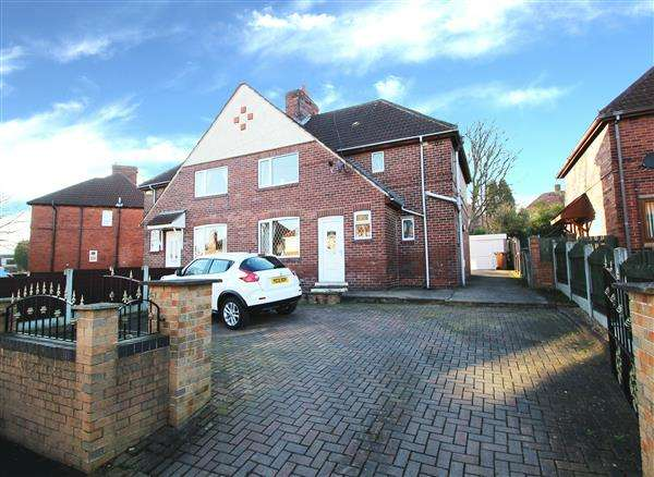 3 Bedrooms Semi Detached House for sale in Saxon Grove, South Kirkby