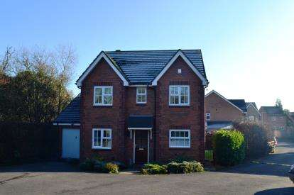 4 Bedrooms Detached House for sale in Goshawk Road, Quedgeley, Gloucester, Gloucestershire