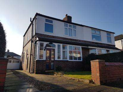 3 Bedrooms Semi Detached House for sale in Harcourt Road, Altrincham, Greater Manchester