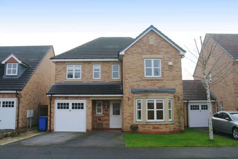 4 Bedrooms Detached House for sale in FORDYCE CLOSE, CHELLASTON