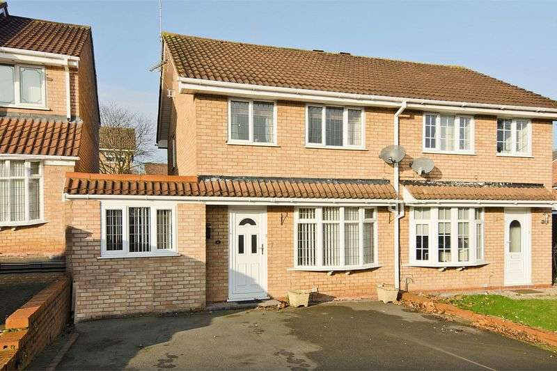 3 Bedrooms Semi Detached House for sale in Kingfisher, Wilnecote