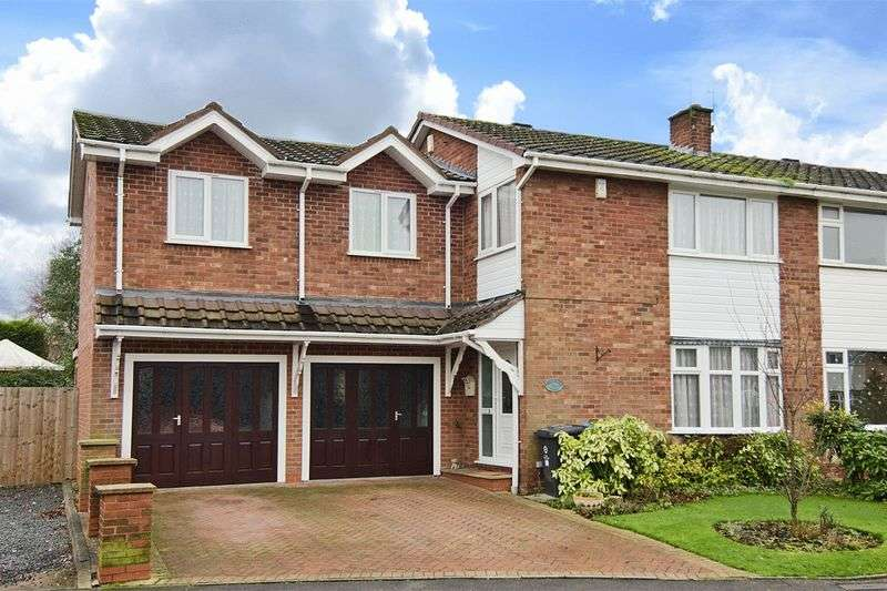 4 Bedrooms Semi Detached House for sale in Chillington Drive, Codsall, Wolverhampton