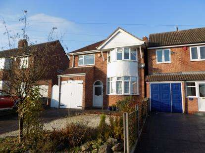 3 Bedrooms Detached House for sale in Springfield Crescent, Sutton Coldfield, West Midlands