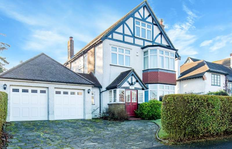 6 Bedrooms Detached House for sale in WEST PURLEY
