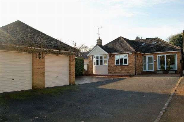 4 Bedrooms Detached Bungalow for sale in Ecton Lane, Sywell, Northampton NN6 0BA