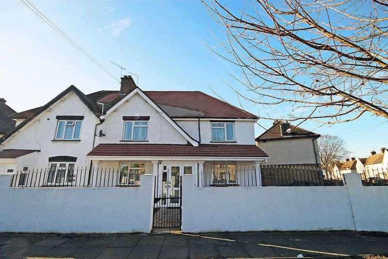 5 Bedrooms Semi Detached House for sale in Greenford Avenue UB1 2AF