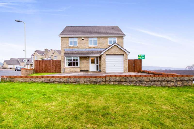 4 Bedrooms Detached House for sale in Iron Way, Tondu, Bridgend