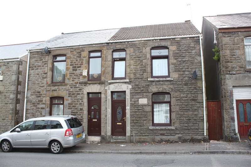 3 Bedrooms Semi Detached House for sale in Chemical Road, Morriston, Swansea