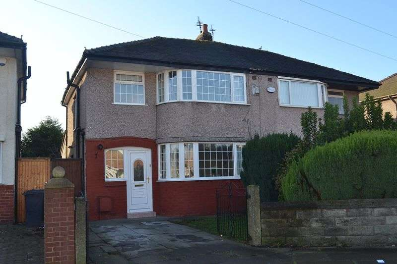 3 Bedrooms Semi Detached House for sale in Radley Drive, Aintree, Liverpool