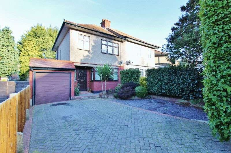 3 Bedrooms Semi Detached House for sale in Kingshill Avenue, Romford