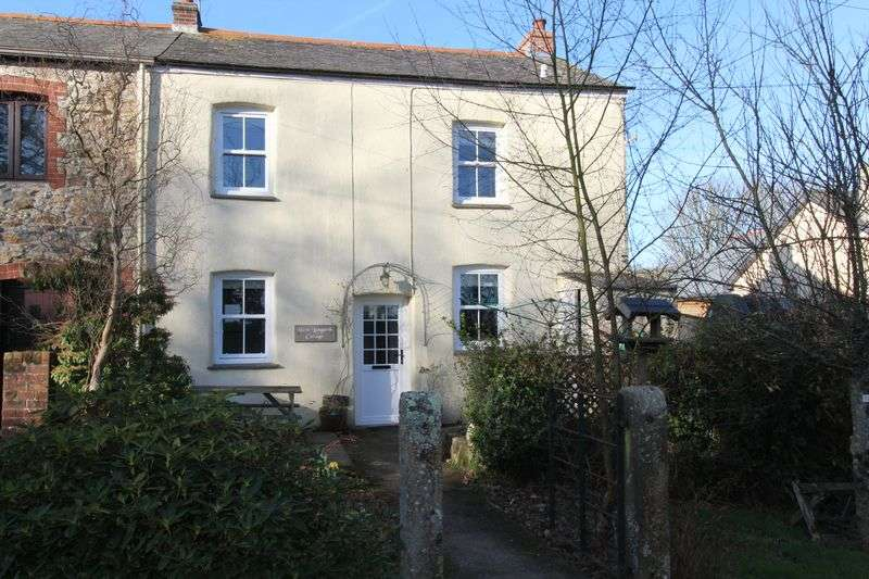 2 Bedrooms Terraced House for sale in West Langarth Cottage, Threemilestone, Truro
