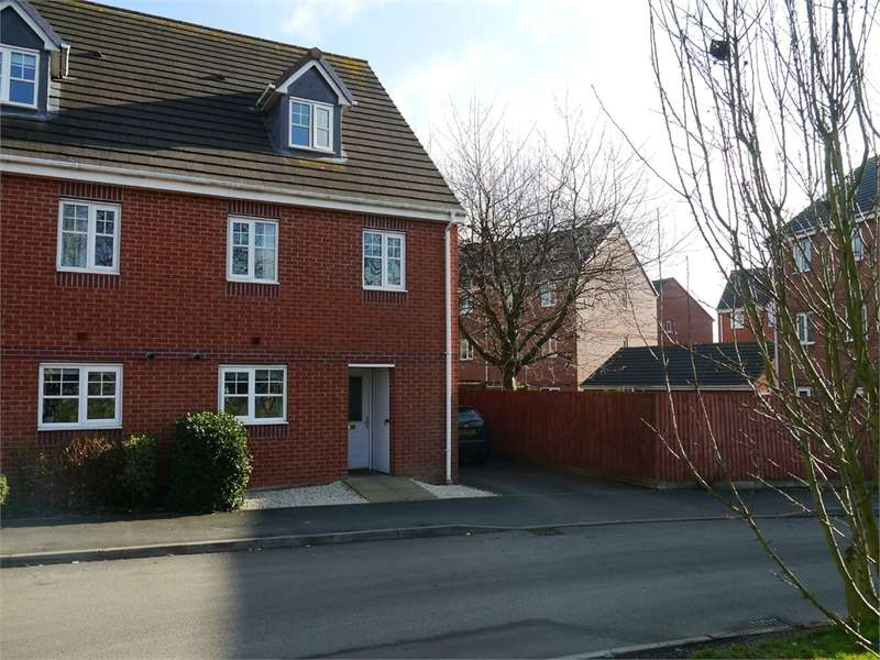 3 Bedrooms Semi Detached House for sale in Darwin Avenue, Worcester