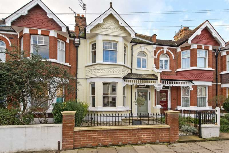 5 Bedrooms Terraced House for sale in Elsenham Street, London, SW18