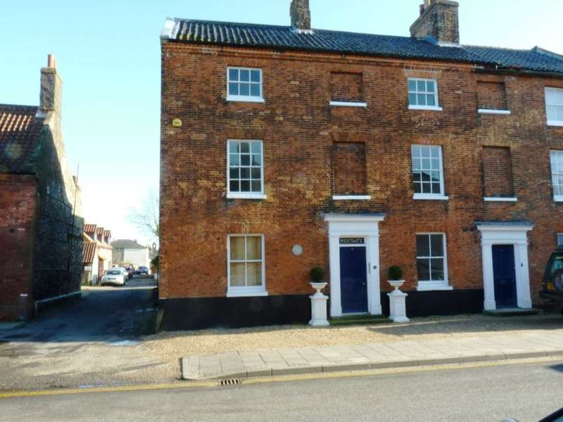 2 Bedrooms House for sale in Westgate House, London Street, Swaffham, PE37 7DD