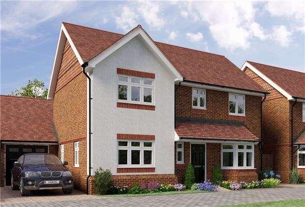 4 Bedrooms Detached House for sale in 3 Campbell Close, Reigate Road, Hookwood, HORLEY, Surrey, RH6 0AS