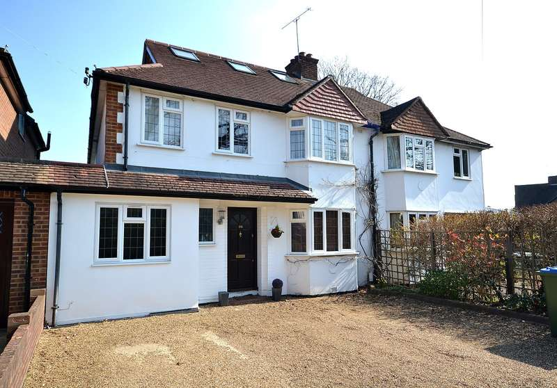 5 Bedrooms Semi Detached House for sale in Walton on Thames
