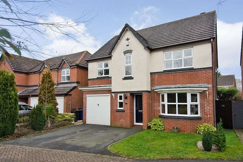 5 Bedrooms Detached House for sale in Eights Croft Burntwood