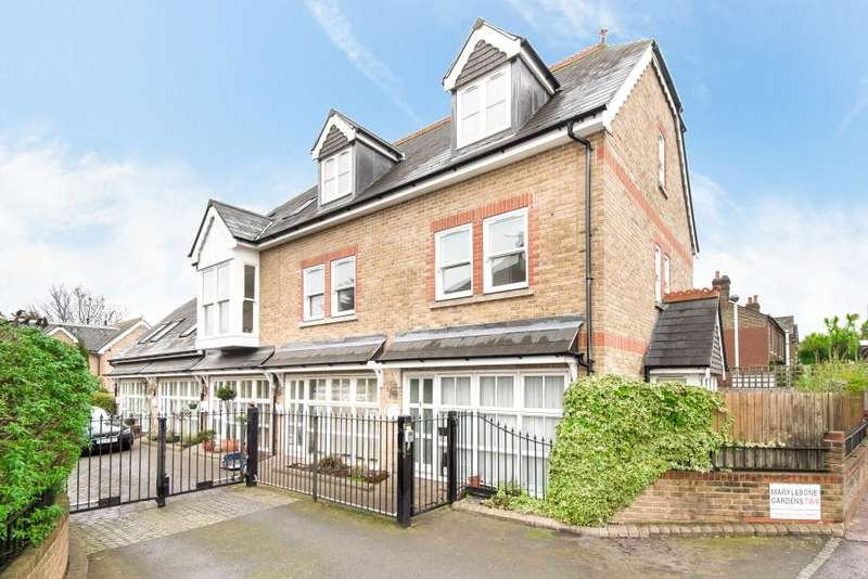 3 Bedrooms Town House for sale in Marylebone Gardens, Richmond