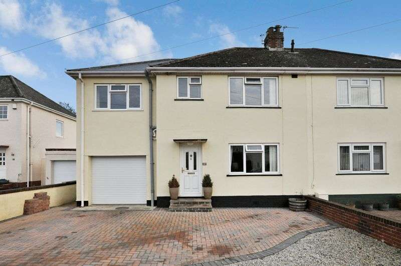4 Bedrooms Semi Detached House for sale in Rydon Road, Kingsteignton