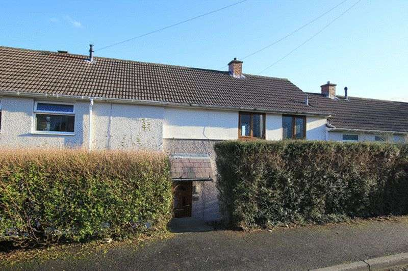 2 Bedrooms Terraced House for sale in ROSS AVENUE, CARMARTHEN