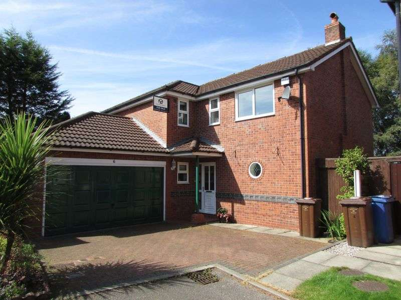 4 Bedrooms Detached House for sale in Hollins Close, Bury