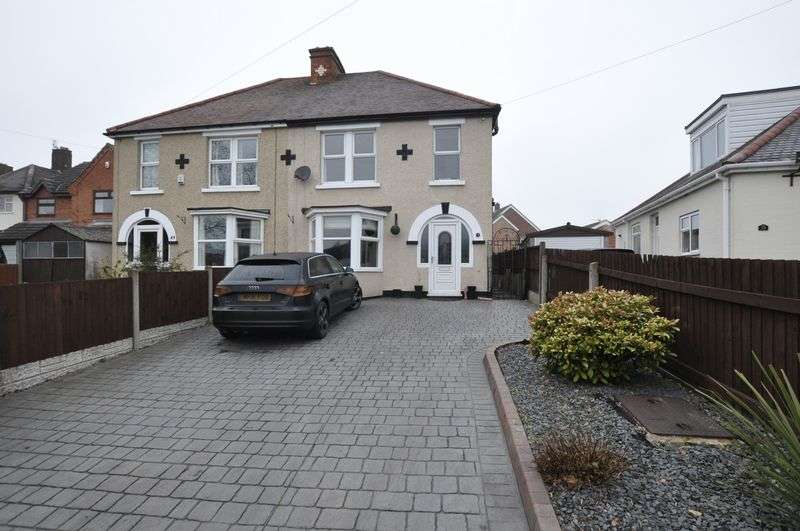 3 Bedrooms Semi Detached House for sale in Church Road, Stretton