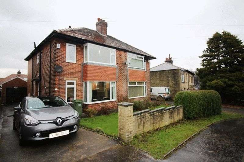 4 Bedrooms Semi Detached House for sale in Green Park Road, Halifax
