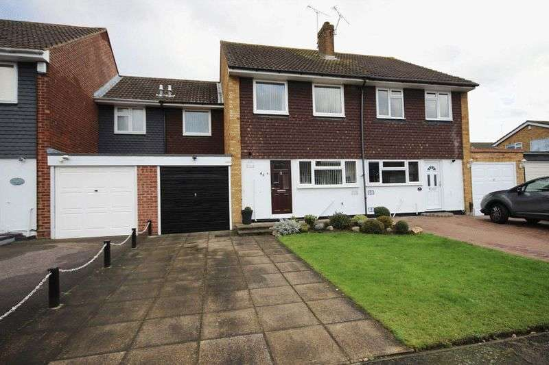 3 Bedrooms Semi Detached House for sale in Thornhill, North Weald