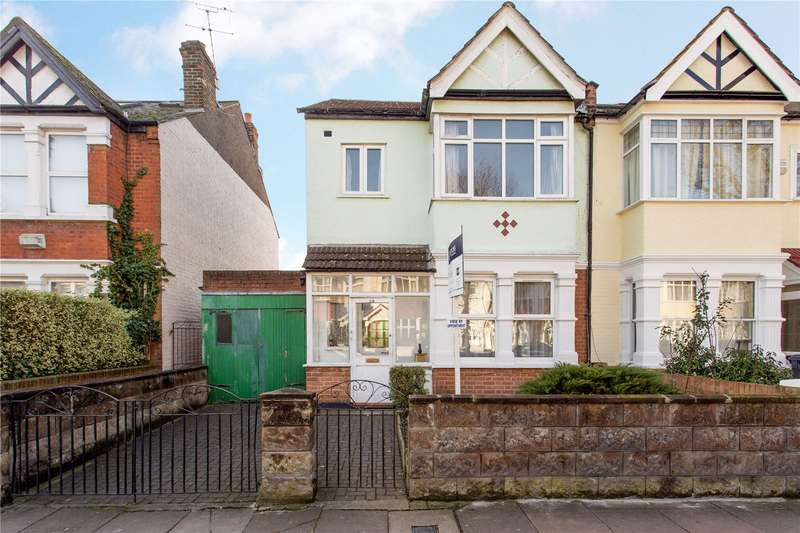 3 Bedrooms Semi Detached House for sale in Midhurst Road, Ealing, W13