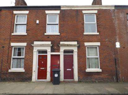 2 Bedrooms Terraced House for sale in Lovat Road, Deepdale, Preston, Lancashire