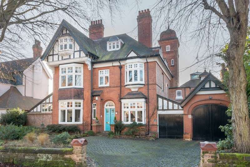 5 Bedrooms Detached House for sale in Chantry Road, Moseley, Birmingham